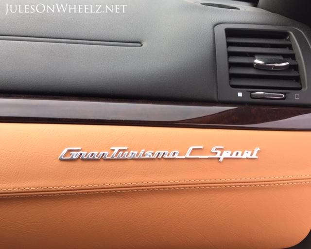 dash emblem 2019 Maserati GTC Sport