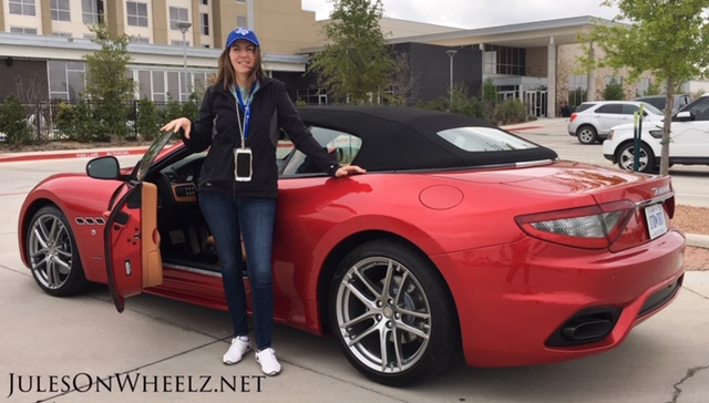 Jules with 2019 Maserati GTC Sport