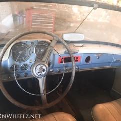 1959 Mercedes 190 SL dash