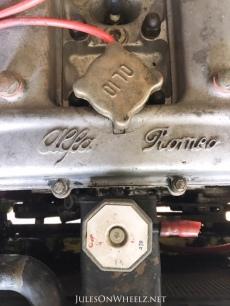 1971 Alfa Romeo Spider engine