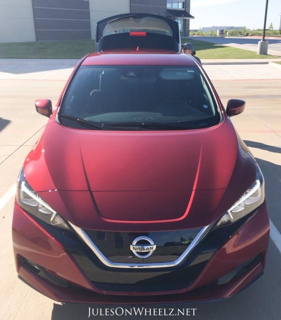 2019 Nissan LEAF PLUS, SV front