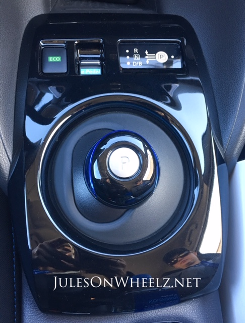 2019 Nissan LEAF PLUS, SV shift knob