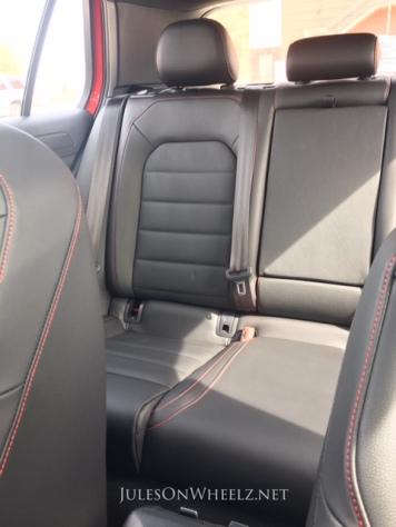 2019 VW GTI, SE interior