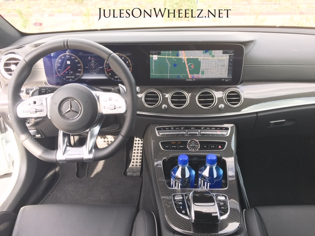 E63 S, Wagon console and steering wheel