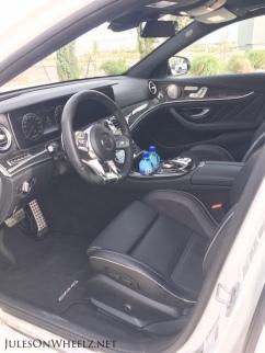 E63 S, Wagon front seat