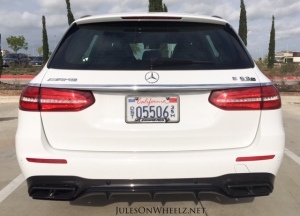 E63 S, Wagon rear view