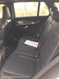 Mercedes-Benz E63 S, Wagon back seat
