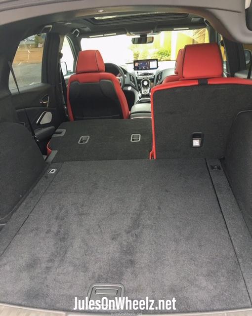 2020 Acura RDX cargo 60 40 split