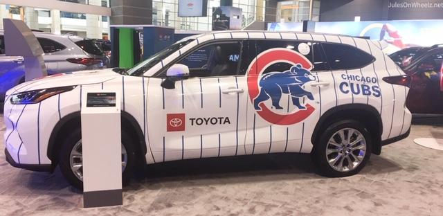 Cubs Theme Toyota Highlander